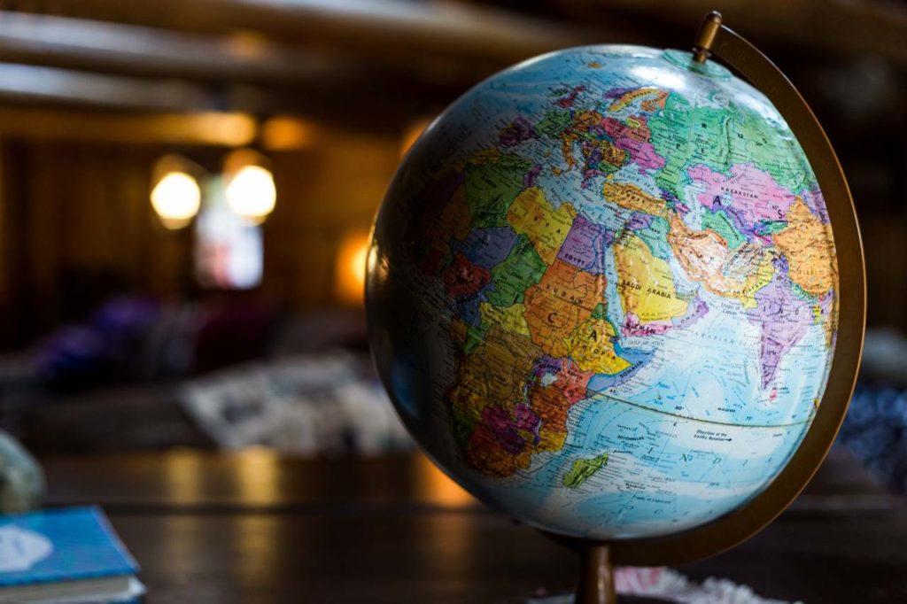 Globus Reiseroute