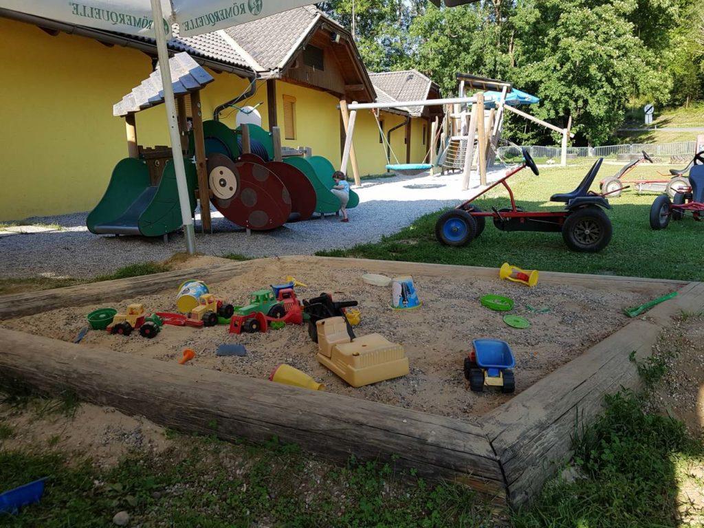 Spielplatz am Restaurant Karawankenblick