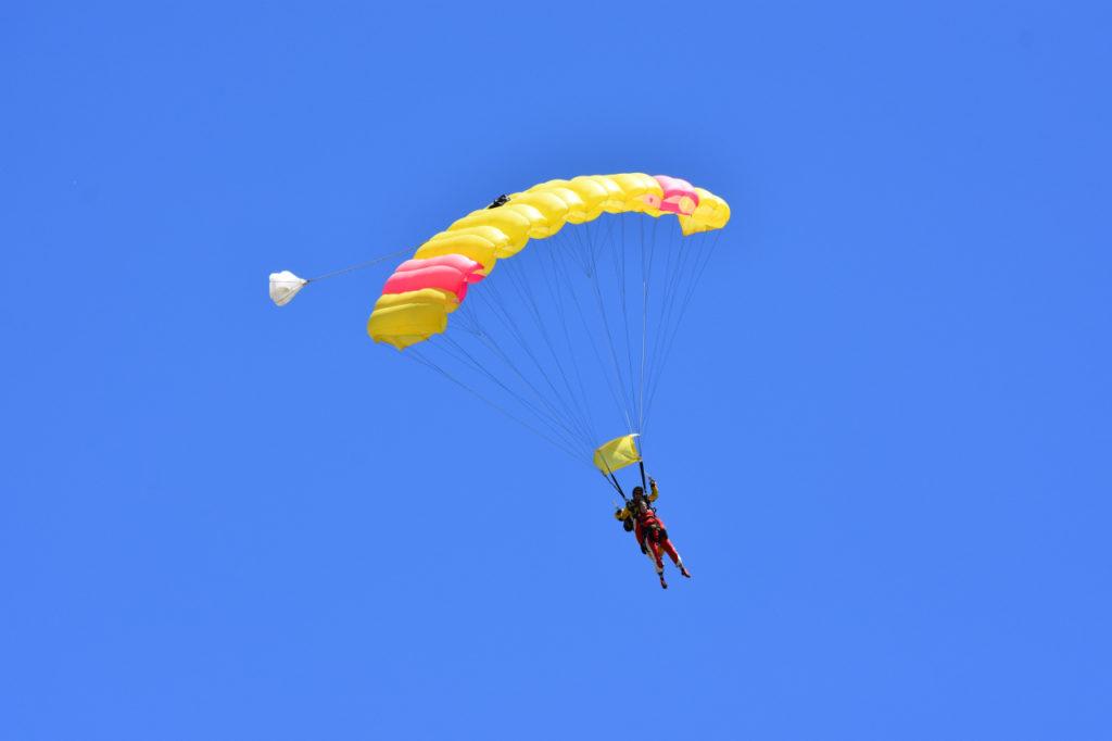 Fallschirmsprung am Lake Taupo
