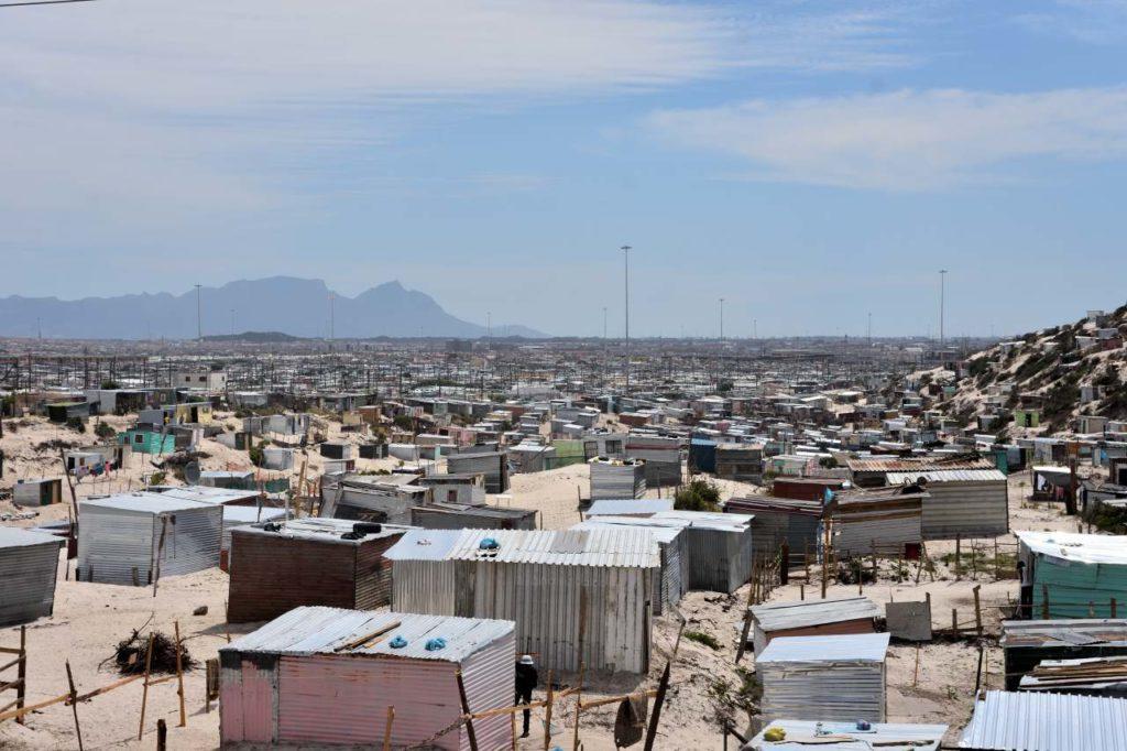 Khayelitsha in den Cape Flats