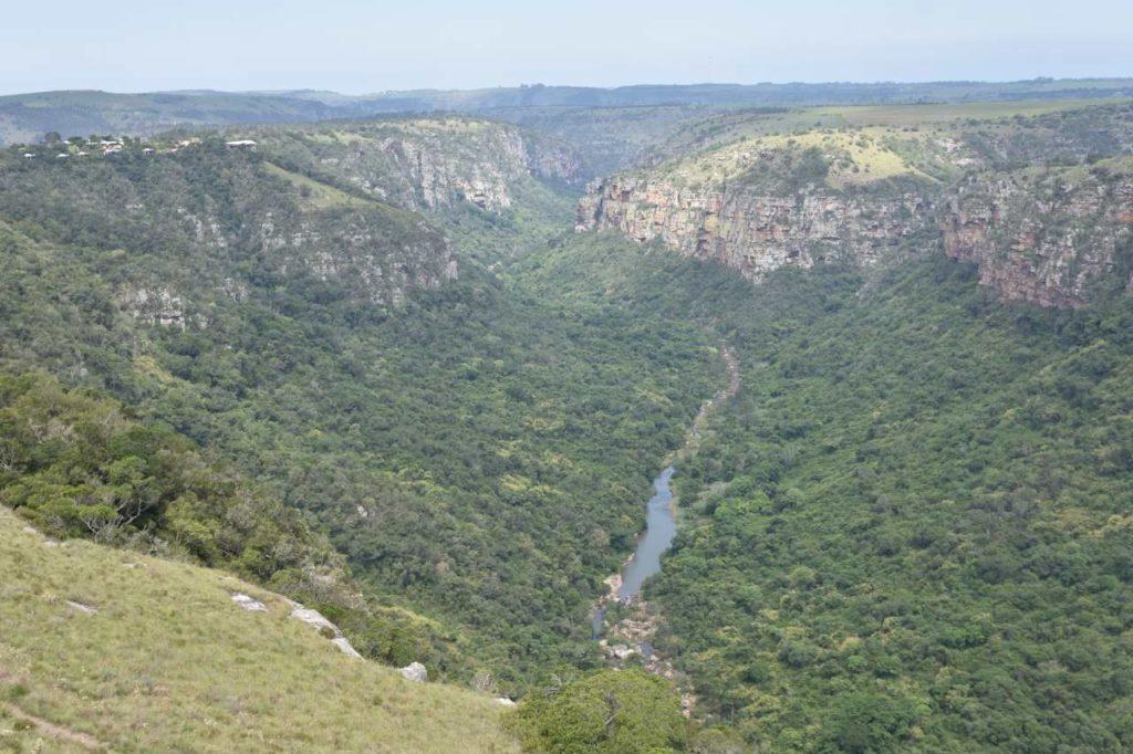 Ausblick in die Oribi Gorge