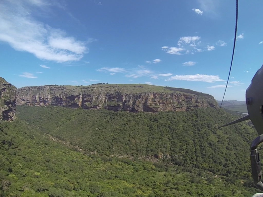 Zipline über die Oribi Gorge