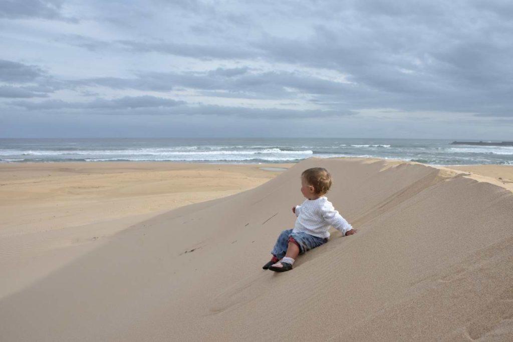 Sanddünen in Port Alfred