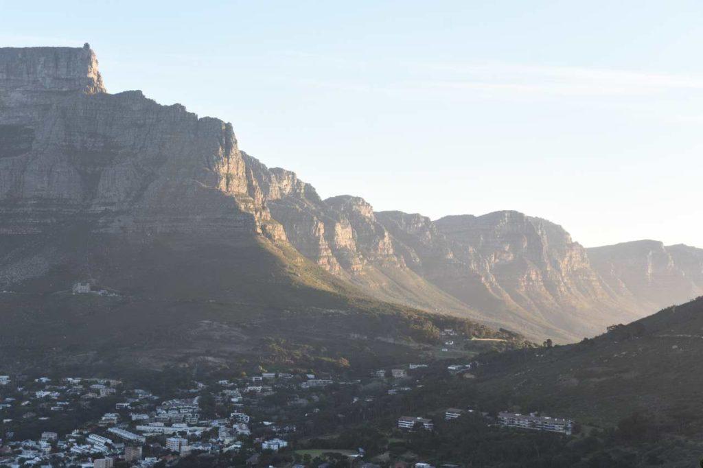 Blick vom Signal Hill auf die Zwölf Apostel